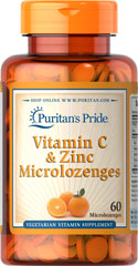 Vitamin C 300 mg & Zinc Microlozenges <p><strong>Microlozenges for Winter Season Defense</strong></p><p>Tasty Vitamin C and Zinc microlozenges coat the membranes of your mouth and throat with Zinc and Vitamin C for soothing comfort.**</p> 60 Lozenges 300 mg/7 mg $9.29