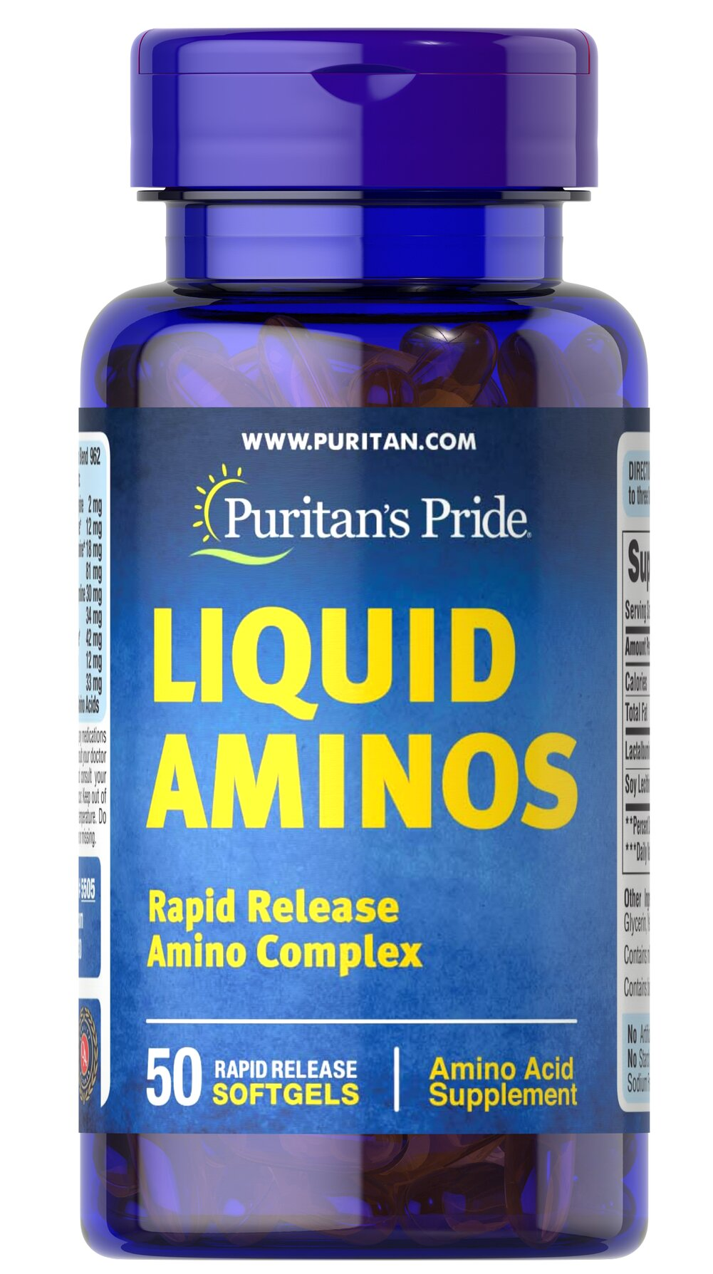 Liquid Aminos  50 Softgels  $12.99