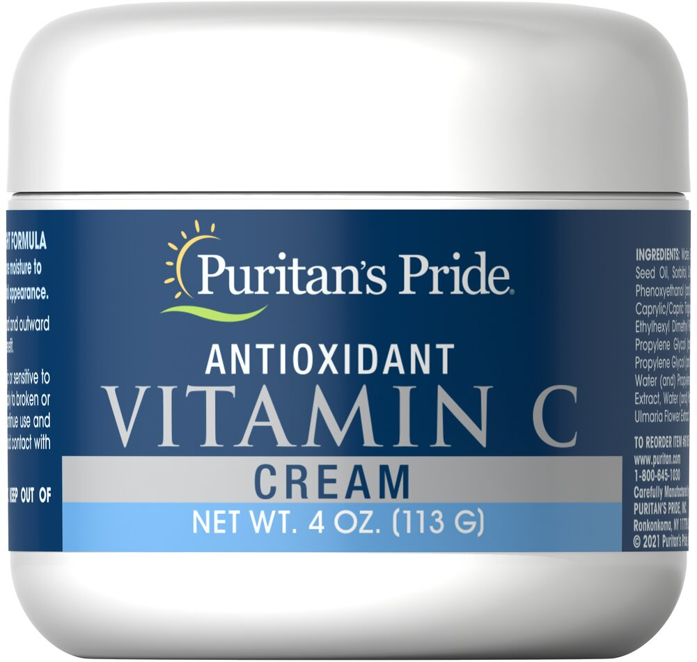 Antioxidant Vitamin C Cream  4 oz Cream  $11.99