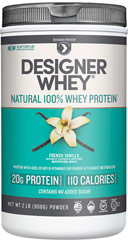 Whey Protein French Vanilla <p><strong>From the Manufacturer's Label:</strong></p><p>Whey Protein Chocolate is manufactured by Designer Whey.</p><p>Available in Chocolate, Vanilla, Double Chocolate and Vanilla Praline  flavors.</p> 2 lbs Powder  $22.99
