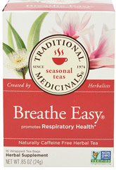 Breathe Easy® Tea  16 Tea Bags  $9.99