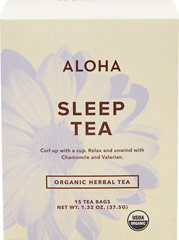 "Organic Sleep Tea <table border=""0"" cellpadding=""0"" cellspacing=""0"" height=""90"" width=""453""><colgroup><col width=""343"" /></colgroup><tbody><tr height=""28""><td class=""xl2353"" height=""28"" style=""height:21.0pt;width:257pt;"" width=""343""><p><strong>From the Manufacturer:</strong></p><p>Unwind  and say goodnight to your da"