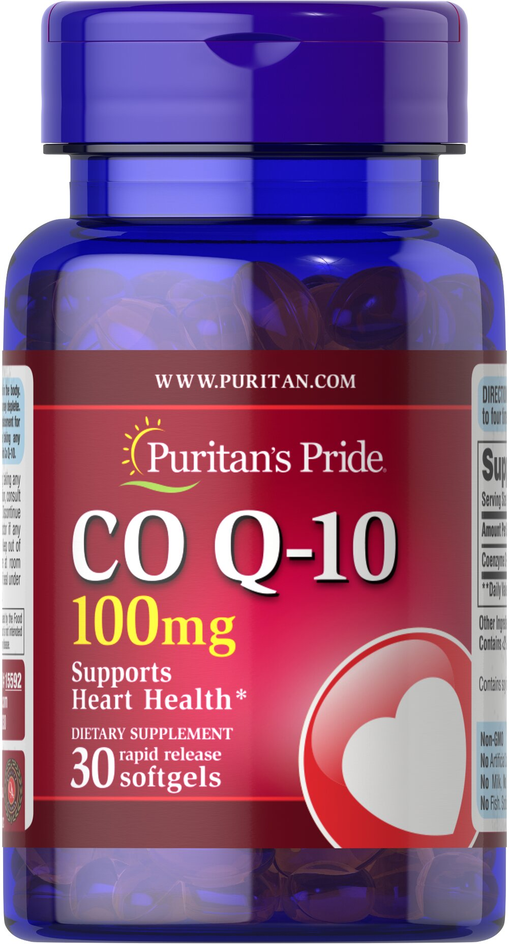 Q-SORB™ Co Q-10 100 mg <p></p>Made with a natural, highly bioavailable form of Co Q 10 — Q-Sorb.™ Important for Statin drug users++ — taking Q-Sorb™ Co Q 10 can help replenish what Statin drugs can deplete. Coenzyme Q-10 provides powerful antioxidant support.** Good oral health is linked to cardiovascular health; Coenzyme Q10 supports both!** Hermetically sealed in easy to swallow rapid-release softgels for superior absorption. <br /><br />++Note: Statin medications can r