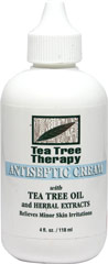 Tea Tree Oil Cream  4 fl oz Cream  $5.99