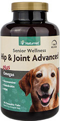 Senior Care Hip & Joint Time Release Tabs <p><strong>From the Manufacturer's Label:</strong></p><p>Formulated specifically for senior dogs with glucosamine, chondroitin, hyaluronic acid and msm.  </p><p>Recommended to provide senior dogs with extra support needed for healthy aging and advanced hip and joint stages.</p><ul><li><strong></strong>Made in the USA</li></ul> 90 Chewables  $53.99