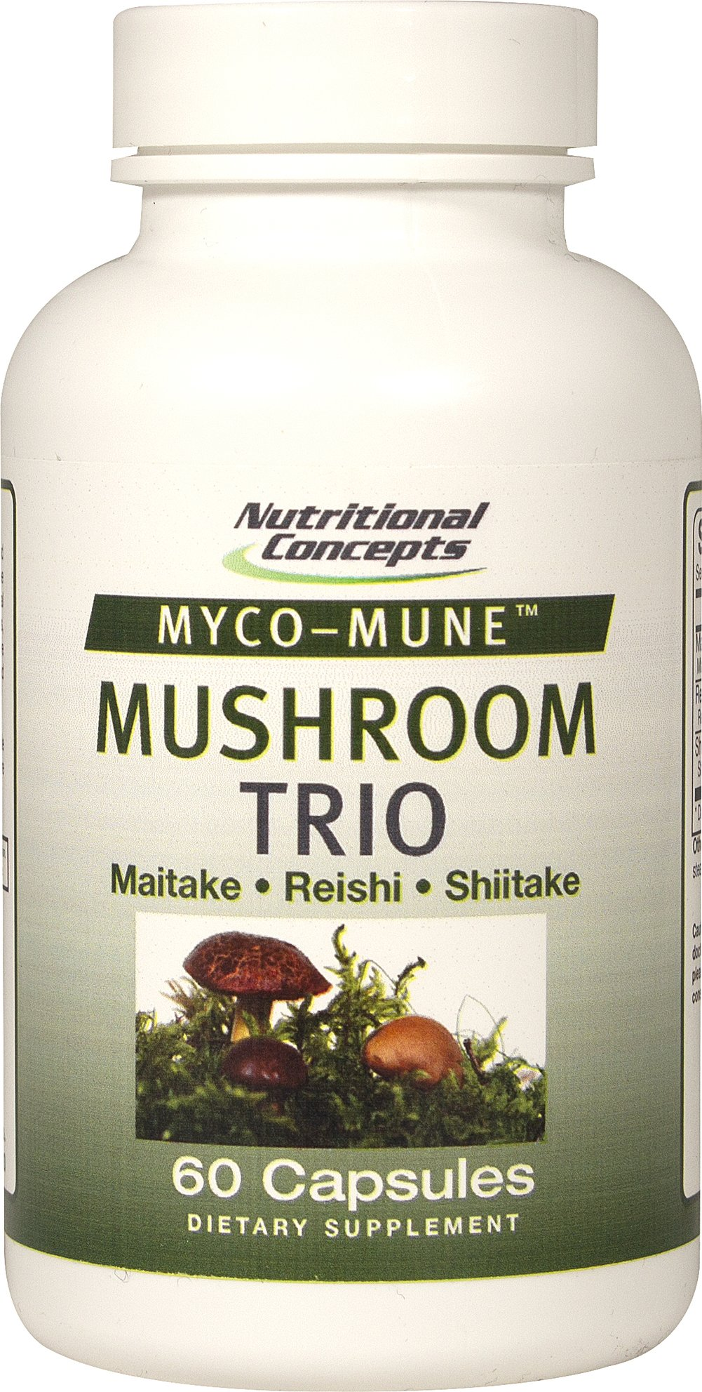 Myco-Mune™ Mushroom Trio Maitake, Reishi, Shiitake <p>Myco-Mune™ Mushroom Trio – is an optimized blend of the worlds finest mushrooms. Mushrooms are a leading source of the essential antioxidant selenium and ergothioneine. Eastern cultures have revered mushrooms health benefits for centuries. </p><p></p> 60 Capsules  $15.99