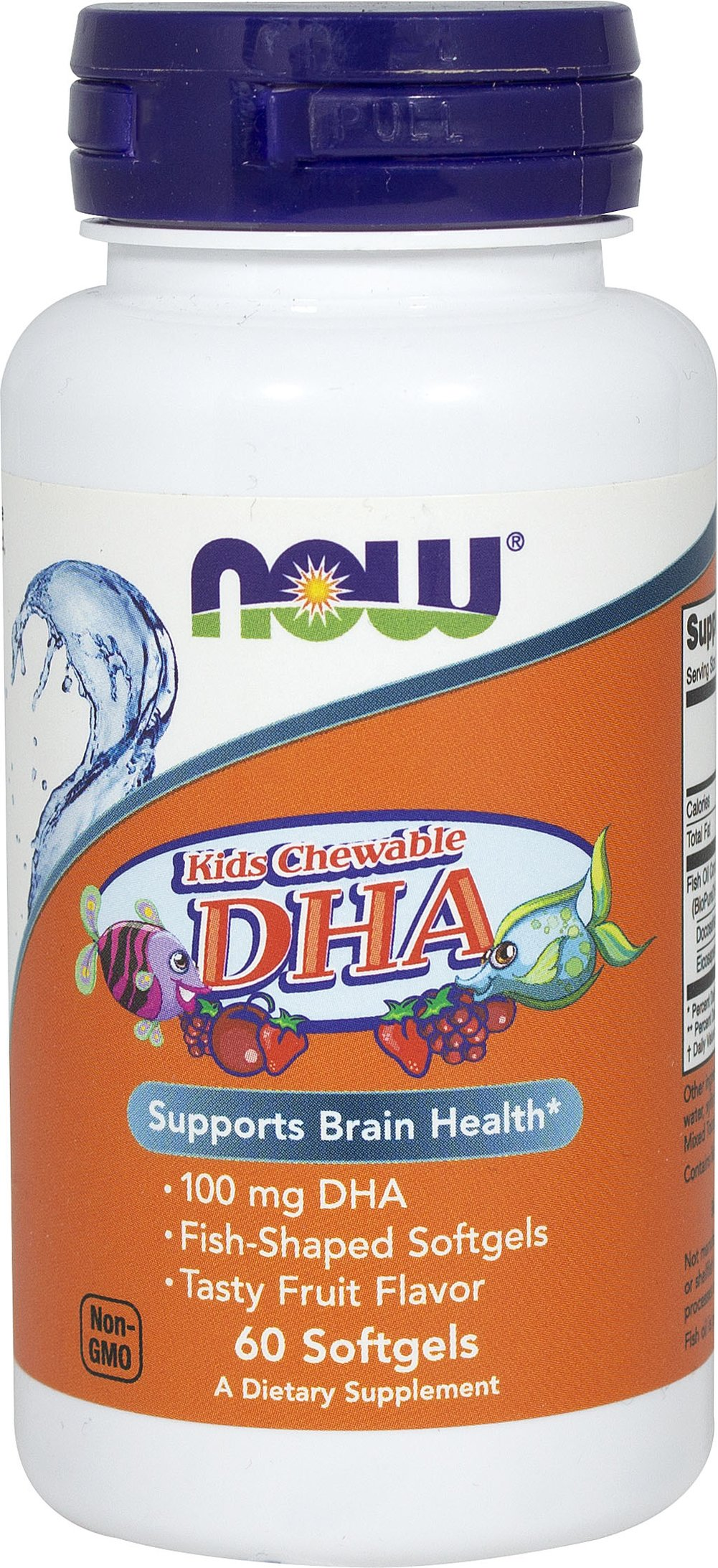 Kids Chewable DHA <p><strong>From the manufacturer:</strong></p><p>Overall Health**</p><p>Fish-shaped softgels</p><p>Tasty fruit-flavor</p> 60 Softgels  $8.99