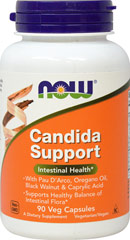 Candida Support  90 Vegi Caps  $10.99