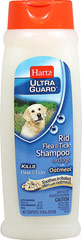 UltraGuard Rid Flea & Tick Shampoo with Oatmeal <p><strong>From the Manufacturer: </strong></p><p>Hartz Ultra Guard Rid Flea & Tick Shampoo with Oatmeal for Dogs effectively kills fleas and ticks plus contains Oatmeal to soothe dry, irritated skin. For use on puppies 6 months of age or older.</p> 18 oz Shampoo