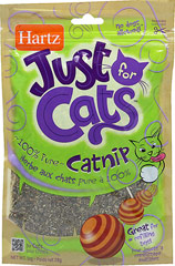 Just for Cats Catnip <p><strong>From the Manufacturer:</strong></p><p>Hartz Just for Cats Catnip will help stimulate cats, increasing play and exercise. Comes in a sleek resealable pouch and contains no dust.</p><p><strong></strong></p> 1 oz Bag  $1.79
