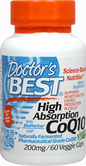 High Absorption CoQ10 with BioPerine  60 Vegi Caps 200 mg $17.99