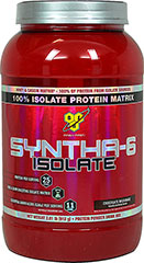 Syntha 6 Iso Chocolate <p><strong>From the Manufacturer's Label:</strong></p><p>Syntha 6 Iso Chocolate is manufactued by BSN.</p> 2 lbs Powder  $34.99