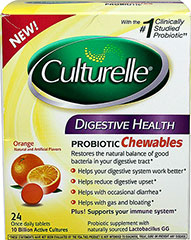 Culturelle® Digestive Health Probiotic Chewables  24 Tablets