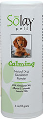 "Calming Dog Deodorant Powder <strong><br type=""_moz"" /></strong> 3 oz Powder  $27.99"