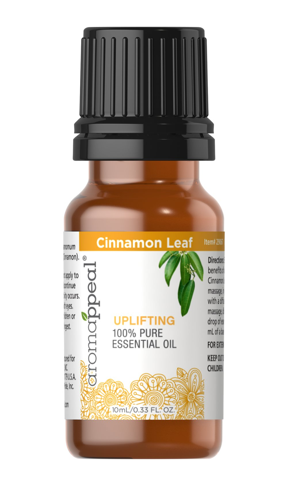 Cinnamon Leaf 100% Pure Essential Oil  10 ml Oil  $10.99