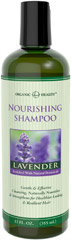 Organic Health™ Nourishing Lavender Shampoo Gentle & Effective Cleansing</p>  <p>Naturally Nourishes & Strengthens for Healthier Looking & Resilient Hair</p>  <p>Enjoy the sweet, flowery fragrance of lavender while you pamper your hair with our Lavender Shampoo. Work it up into a rich lather and relish the way it naturally strengthens and nourishes your hair. Enhanced with organic botanicals, Lavender Shampoo will leave your hair looking shiny, healthy and str