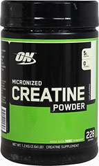 Micronized Creatine Powder <p><strong>From the Manufacturer's Label: </strong></p><p>Micronized Creatine Powder is manufactured by Optimum Nutrition.<br /></p> 1200 g Powder  $28.49