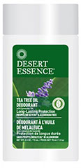 Tea Tree Oil Deodorant with Lavender Oil <p><strong>From the Manufacturer's Label:</strong></p><p>Aluminum Free Tea Tree Deodorant with Lavender Oil is formulated without toxic aluminum and yet is extremely effective in controlling underarm odor. Tea Tree Oil is aromatic oil from Australia.  It helps to eliminate odor without stopping perspiration, an important function of the body which should not be inhibited.</p><p>The unique ingredient Farnesol i