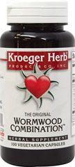Wormwood Combination  100 Capsules  $8.25