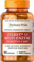 Zygest® 13 Multi-Enzyme  90 Capsules  $12.99