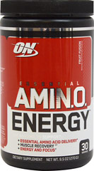 Essential Amino Energy™ Fruit Fusion <p>We are proud to bring you Essential Amino Energy™ Fruit Fusion from Optimum Nutrition.  Look to Puritan's Pride for high quality national brands and great nutrition at the best possible prices.</p> 30 Powder  $21.99