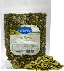 Raw Pepitas (Pumpkin Seeds)  8 oz Bag  $8.09