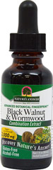 Black Walnut & Wormwood Liquid Extract AF <p><b>From the Manufacturer's Label:</b></p> <p>Hawthorn Black Walnut & Wormwood Alcohol Free is manufactured by Nature's Way.</p> 1 oz Liquid  $8.99