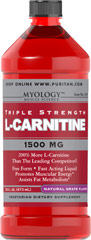 L-Carnitine 1500 mg Grape <p>Our Triple Strength liquid formula is fast acting, comes in delicious natural lemon, watermelon, or grape flavor.</p><p>Promotes muscular energy and is important for heart health.**</p><p>Contributes to energy production.**</p><p>Provides support for fat metabolism.**</p><p>An easy dose of just one tablespoon a day.</p><p>A perfect choice for vegetarian lifestyles.</p> 16 oz Liquid 1500 mg