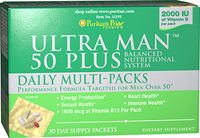 Ultra Man™ 50 Plus  Daily Multi-Packs  30 Packets