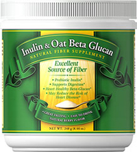 Inulin & Oat Beta Glucan  240 grm Powder  $4.99