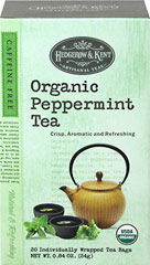 Organic Peppermint Tea  20 Bags  $1.99