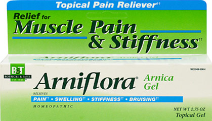 Arniflora Arnica Gel <p><strong>From the Manufacturer's Label: </strong></p><p>Homeopathic Formula</p><p>Arniflora® is a modern pharmaceutical preparation containing 8% tincture of Arnica montana.</p><p>Manufactured by BOERICK & TAFEL.</p> 2.75 oz Gel  $10.74
