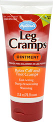 Leg Cramp Ointment <p><strong>From the Manufacturer's Label: </strong></p><p>For the temporary symptomatic relief of cramps and pains in the legs and calves</p><p>100% natural</p><p>Works fast</p><p>Pleasant wintergreen scent</p> 2.5 oz Ointment  $5.99