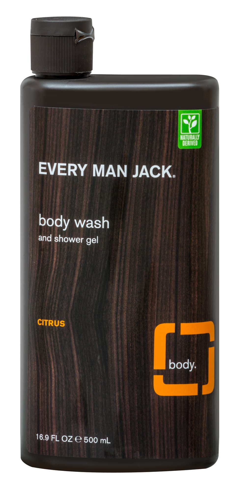 Every Man Jack® Citrus Scrub Body Wash & Shower Gel  16.9 fl oz Liquid  $5.99