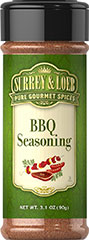 BBQ Seasoning <p>Surrey & Loeb BBQ seasoning is perfect for sizzling steaks, chicken, pork and kabobs. A blend to satisfy every barbeque fan!</p> 3.1 oz Seasoning  $6.99