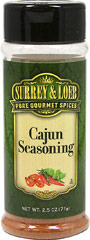 Cajun Seasoning  <p>Give your meals an authentic Cajun flair, with our new Surrey & Loeb house branded Cajun Seasoning.</p> 3.5 oz Seasoning  $5.99