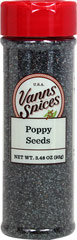 Blue Poppy Seed <p>Surrey & Loeb's new house brand of poppy seeds are radiant in their blue-gray color, with a mild nutty flavor and crunchy texture. They are a  welcome addition to breads, cookies, cakes and more</p> 1.9 oz Bottle  $6.99