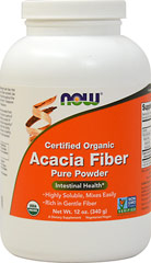 Organic Acacia Fiber Powder 6500 mg  12 oz Powder 6500 mg $10.99