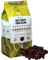 Gold Roast® Kona Blend Whole Bean Coffee  10 oz Bag  $9.99