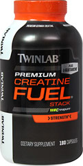 Creatine Fuel Stack <p><strong>From the Manufacturer's Label:</strong></p><p>Creatine Fuel Stack is manufactured by Twinlab.</p> 180 Capsules  $17.99