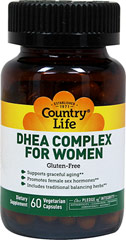 DHEA Complex For Women  60 Vegi Caps  $11.75