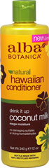 Alba® Coconut Milk Extra-Rich Hair Conditioner <p><strong>From the Manufacturer's Label:</strong></p><p>Alba® Coconut Milk Extra-Rich Hair Conditioner is manufactured by Alba® Botanica.</p> 12 fl oz Conditioner  $7.99