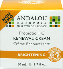 Andalou Probiotic + C Renewal Cream  1.7 fl oz Cream  $19.96