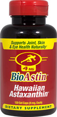 BioAstin® Hawaiian Astaxanthin 4 mg  120 Gel Caps 4 mg $27.99