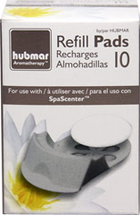 SpaScenter Diffuser Refill Pads for Item # 73175 <p>10 Reusable SpaScenter Refill Pads for <strong>Item # 73175</strong></p><p>SpaScenter is the ideal way to experience the essential oils benefits in any room of your home.</p><p></p> 10 Pads  $1.49