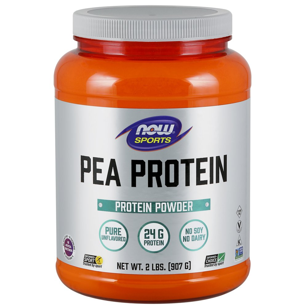 Pea Protein <p><strong>From the Manufacturer's Label:</strong></p><ul><li>Non-GMO Vegetable Protein</li><li>100% Pure, 24g Protein</li><li>Mixes Easily, Smooth Texture, Superior Taste with Branched Chain Amino Acids</li><li>No Soy, No Dairy</li></ul><p>Peas are well known for being a highly bioavailable protein. Additionally, they have no major allergens. Collectively, this makes pea protein an ideal so