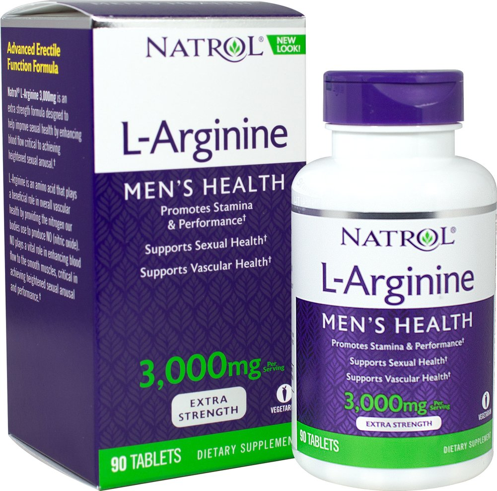 L Arginine <p><strong>From the Manufacturer's Label:</strong></p><p>L-Arginine is a naturally occurring amino acid vital for a variety of biochemical reactions in our bodies, and is most notably a precursor of Nitric Oxide.</p><p><strong></strong></p><p>Manufactured by Natrol.</p> 90 Tablets  $12.99