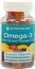 Omega 3 Gummy Vitamins for Adults <p>Naturally flavored Lemon gummy vitamins without any artifical colors, flavors, or preservatives. All the benefits of Omega-3 without the fishy taste.</p><p>Flaxseed Oil Extract and Purified Fish Oil Concentrate Omega Fatty Acid Blend 300mg</p> 60 Gummies  $7.99