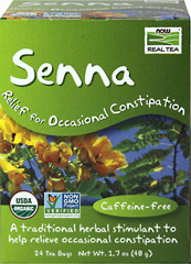 Organic Senna Tea <p><strong>From the Manufacturer's Label:</strong></p><p>Sometimes you just gotta go, Senna Herbal Tea helps you get going. It is made with only one ingredient, Senna leaves.</p> 24 Tea Bags  $7.99