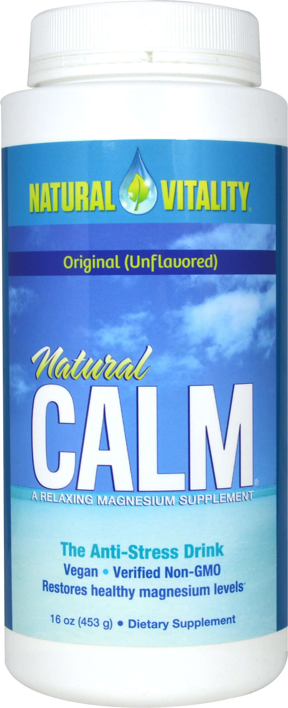 Natural Calm Original  <B>From the Manufacturer's Label:</B> <P>Award-winning Natural Calm is the best-selling ionic magnesium supplement in the natural products market.</P>  16 oz Powder  $23.99